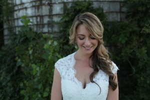 One of my favorites, taken by my wedding photographers, of a good friend & client of mine!